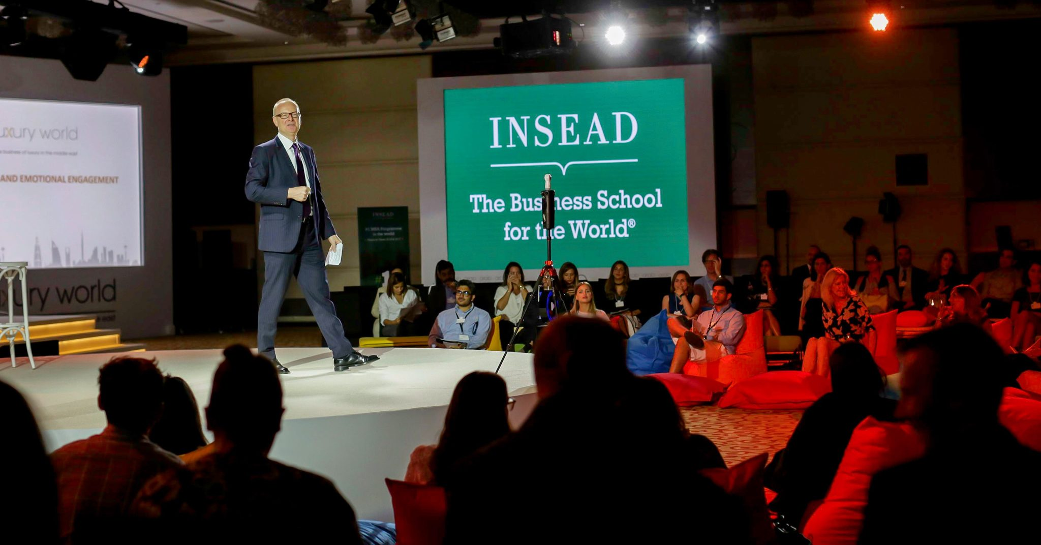 Martin Roll Moderates The INSEAD Global Luxury Forum 2017 (Paris)