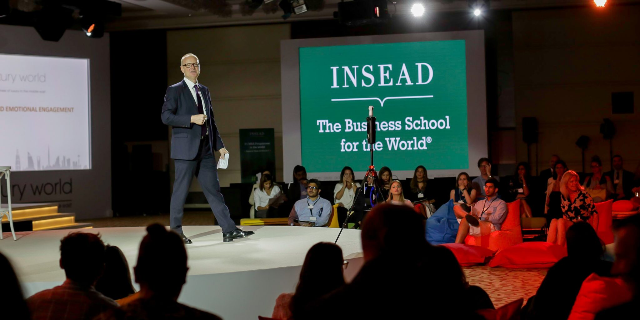 Martin Roll - Visiting Entrepreneur in Residence - INSEAD - Jan 2018